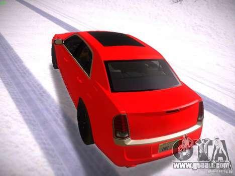 Chrysler 300C SRT8 2011 for GTA San Andreas back left view