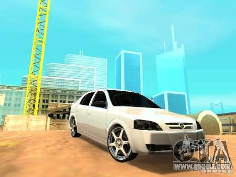 Chevrolet Astra Hatch 2010 for GTA San Andreas