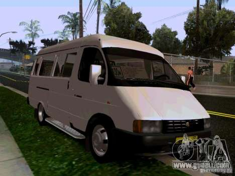 Gazelle 32213 1994 for GTA San Andreas right view