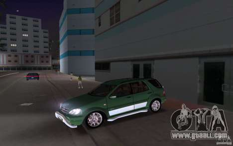 Mercedes-Benz ML55 Demec for GTA Vice City back left view
