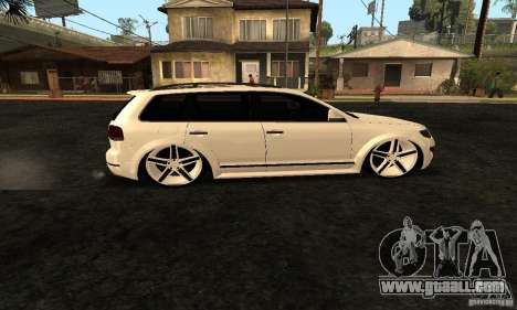 Volkswagen Touareg Dag Style for GTA San Andreas left view