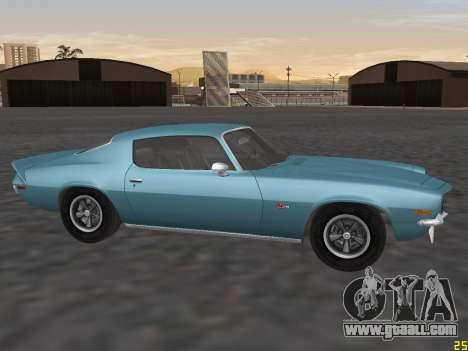 Chevrolet Camaro Z28 1971 for GTA San Andreas