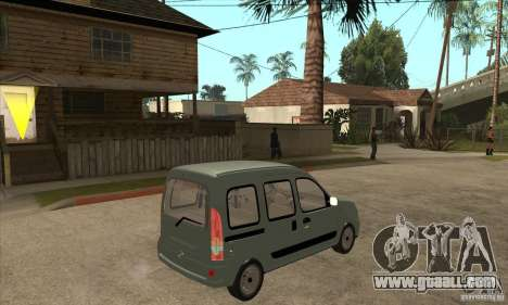 Renault Kangoo 2005 for GTA San Andreas right view