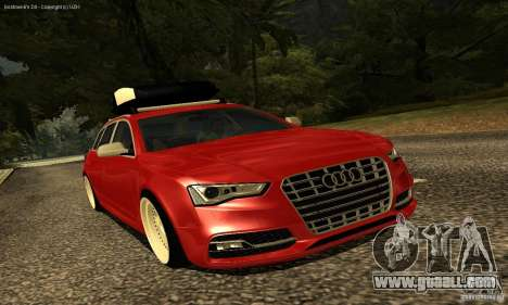 Audi A6 Avant Stanced for GTA San Andreas side view