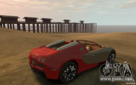 2009 Bugatti Veyron Grand Sport [EPM] for GTA 4 right view