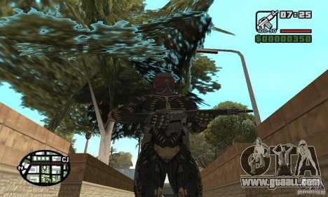 Crysis skin for GTA San Andreas forth screenshot