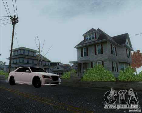 Chrysler 300 SRT-8 Final 2011 for GTA San Andreas back view