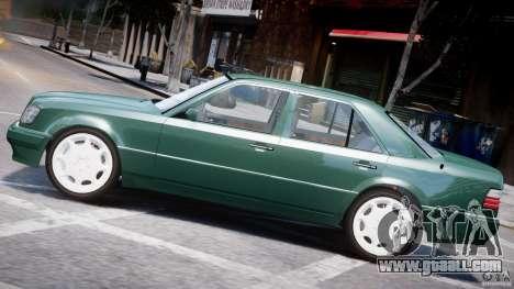 Mercedes-Benz W124 E500 1995 for GTA 4 interior