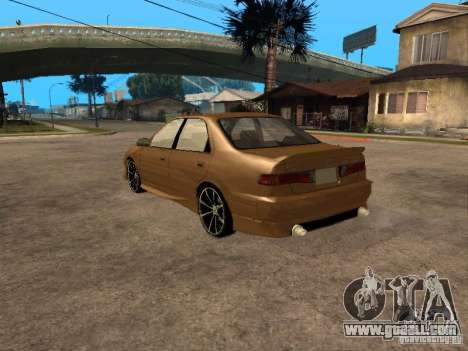 Toyota Camry 2002 TRD for GTA San Andreas left view