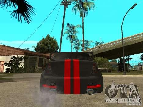 Dacia Logan Tuned for GTA San Andreas back left view