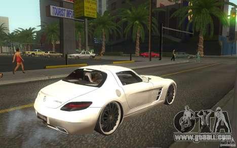 Mercedes Benz SLS HAMANN for GTA San Andreas right view