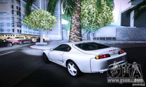 Toyota Supra Tuneable for GTA San Andreas left view