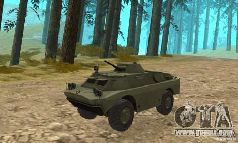 BRDM-2 Standard Edition for GTA San Andreas left view