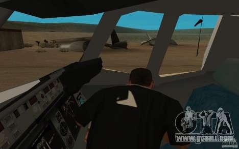 C-17 Globemaster III for GTA San Andreas back view
