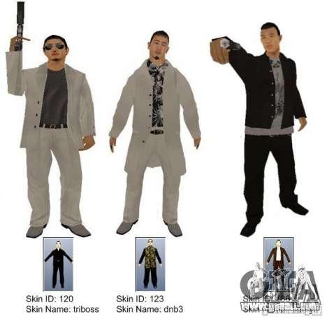 New Yakuza for GTA San Andreas second screenshot