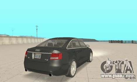 Audi A6 3.0 TDI quattro 2004 for GTA San Andreas left view