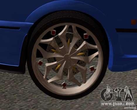 Z-s wheel pack for GTA San Andreas