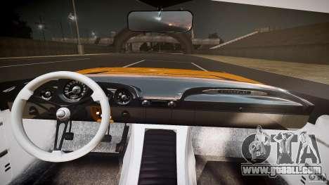 Chevrolet El Camino Custom 1959 for GTA 4 upper view