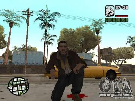 Niko Bellic for GTA San Andreas tenth screenshot