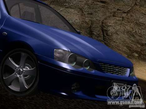 Ford Falcon for GTA San Andreas side view