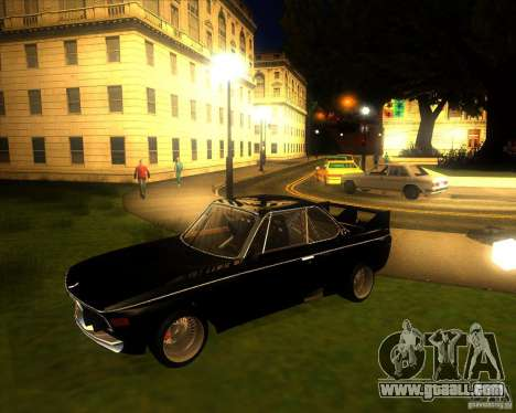 BMW CSL E9 for GTA San Andreas left view