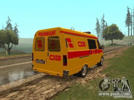 GAS 32217 Resuscitation for GTA San Andreas back left view