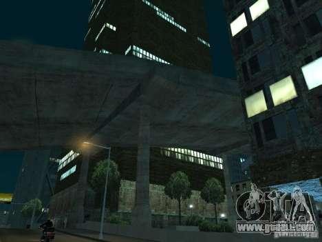New textures skyscrapers LS for GTA San Andreas