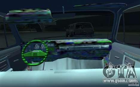 Chevrolet Silverado for GTA 4 back view