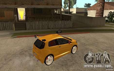 Fiat Grande Punto Tuning for GTA San Andreas right view