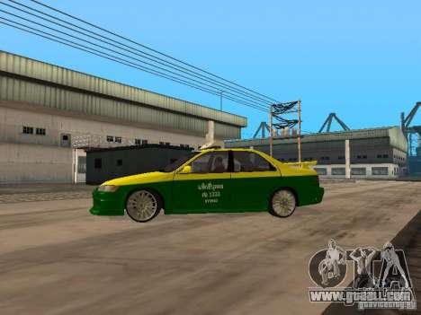 Toyota Camry Thailand Taxi for GTA San Andreas left view