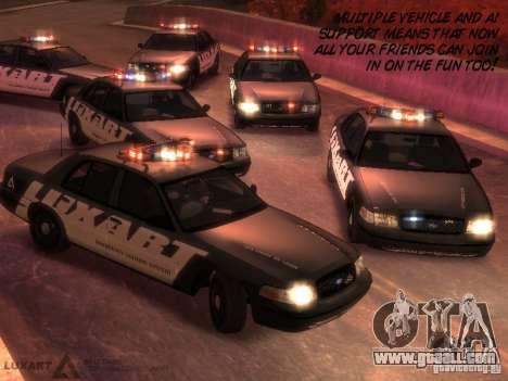 EMERGENCY LIGHTING SYSTEM V6 for GTA 4 sixth screenshot