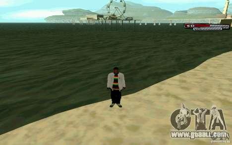 Jamaican HD Skin for GTA San Andreas fifth screenshot