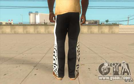 Reebok Sporthose for GTA San Andreas third screenshot