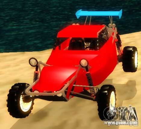 Buggy V8 4x4 for GTA San Andreas
