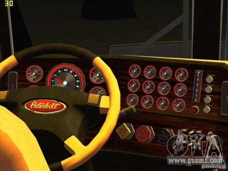 Peterbilt 379 Wrecker for GTA San Andreas right view