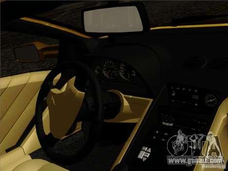 Lamborghini Diablo VT 1995 V3.0 for GTA San Andreas interior