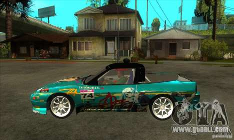 Nissan 200sx from Moscow Drift for GTA San Andreas left view