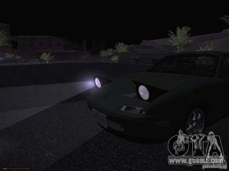 Mazda MX-5 1997 for GTA San Andreas upper view