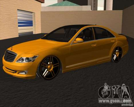 Mercedes Benz S600 Panorama by ALM6RFY for GTA San Andreas