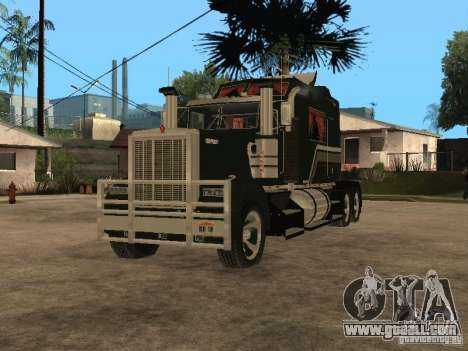 Custom Kenworth w900 - Custom - Trailer for GTA San Andreas