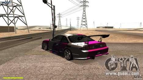 Nissan Silvia S14 kuoki RDS for GTA San Andreas back left view