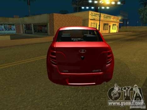 Lada 2190 Granta for GTA San Andreas right view