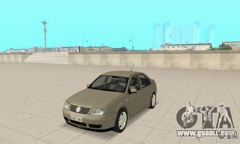 Volkswagen Bora Stock for GTA San Andreas