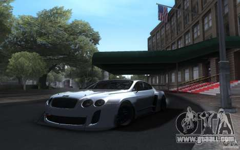 Bentley Continental Super Sport Tuning for GTA San Andreas
