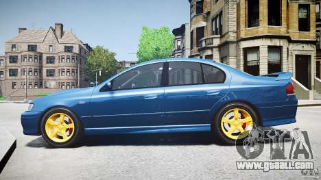 Ford Falcon XR8 2007 Rim 2 for GTA 4 left view