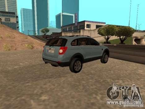 Chevrolet Captiva for GTA San Andreas left view