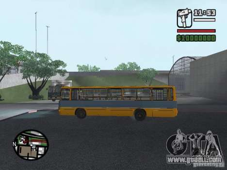 Ikarus 263 for GTA San Andreas side view