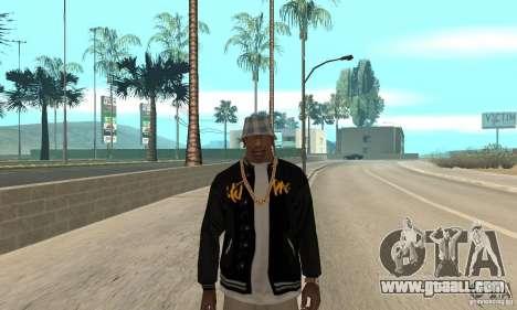 Jacke skin for GTA San Andreas