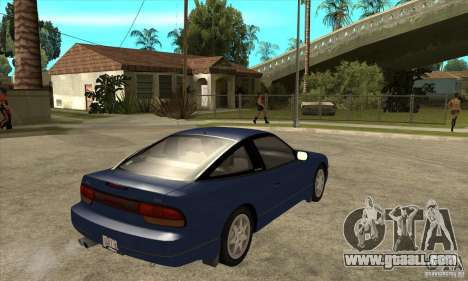 Nissan 240sx - Stock for GTA San Andreas right view
