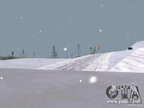 Snow for GTA San Andreas twelth screenshot